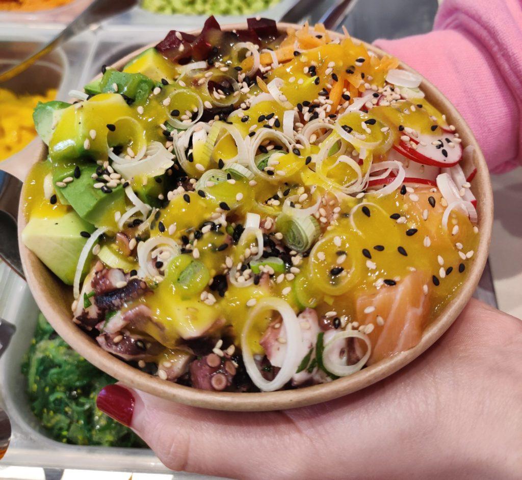 il mandarino siciliano nella poké bowl - Poke hawaiian taste
